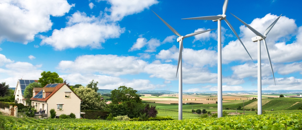 Windenergieanlagen für den Privatbereich haben viel Potenzial